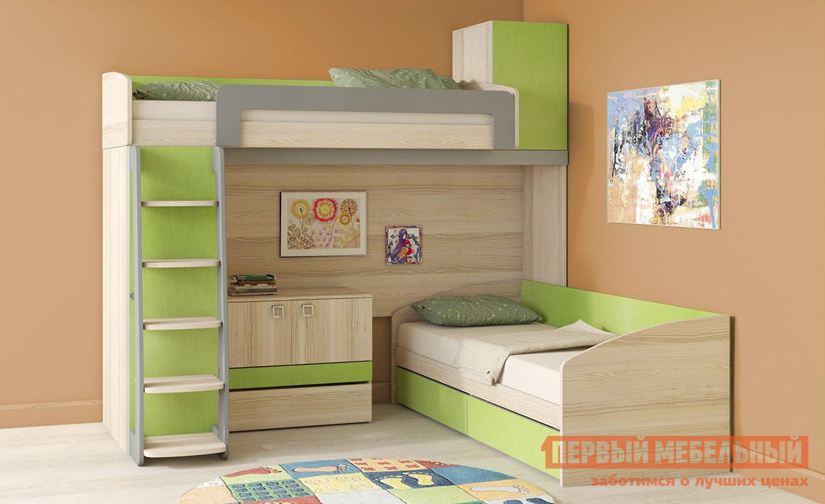 Комплект детской мебели ТриЯ Киви К6 комплект детской мебели трия навигатор к1
