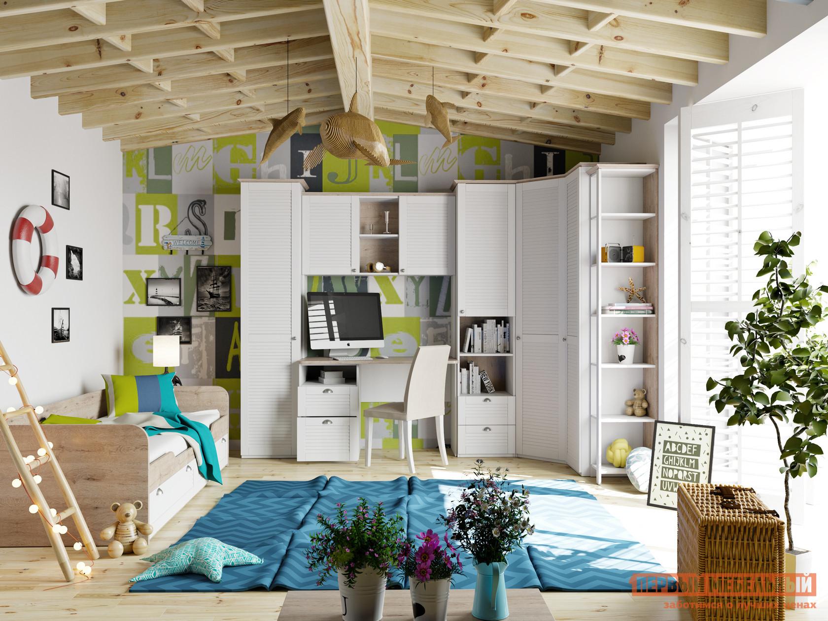 Комплект детской мебели ТриЯ Ривьера ГН-241.103 Набор мебели для детской комнаты №3 / Ривьера ГН-241.105