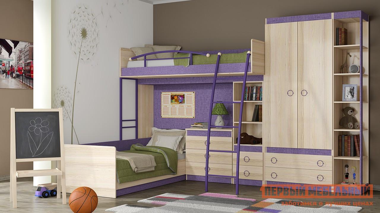 Комплект детской мебели ТриЯ Индиго К1 спальный гарнитур трия саванна к1