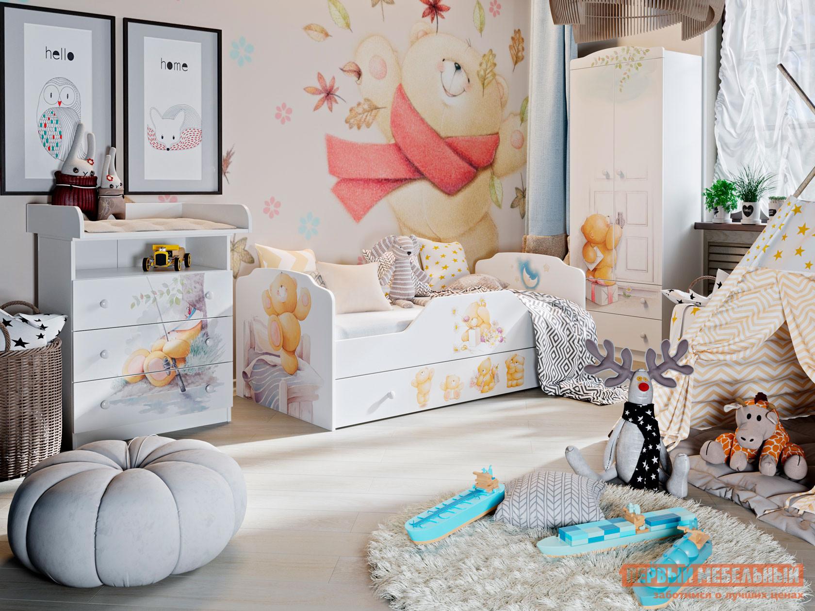 Комплект детской мебели Первый Мебельный Набор детской мебели Тедди