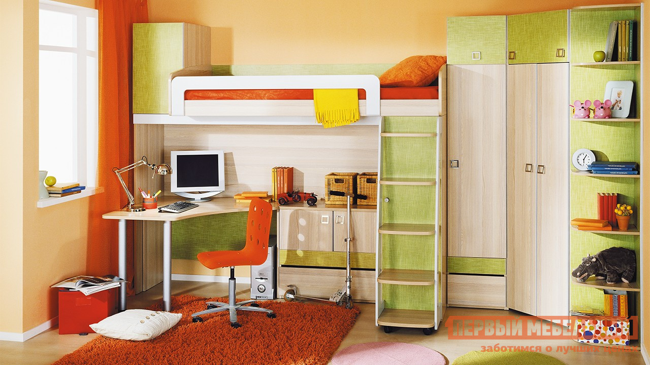 Комплект детской мебели ТриЯ Киви К2 комплект детской мебели трия прованс к1