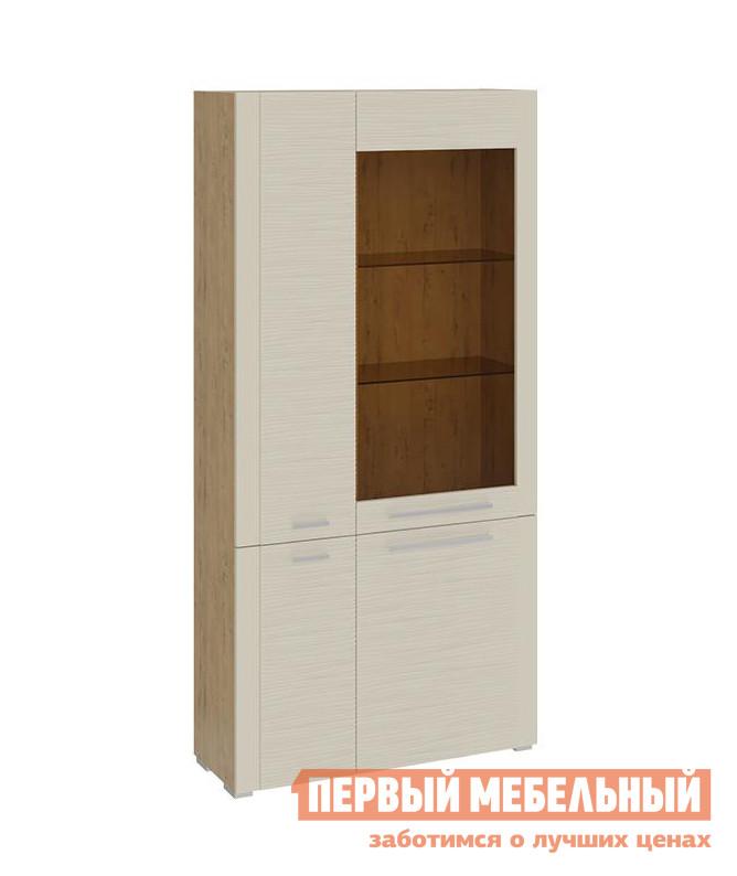 цена на Шкаф-витрина ТриЯ Шкаф комбинированный с 4 дверями Николь 12