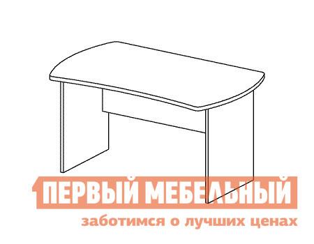 Компьютерный стол Дэфо B154 стол офисный дэфо берлин b101 правый береза серый