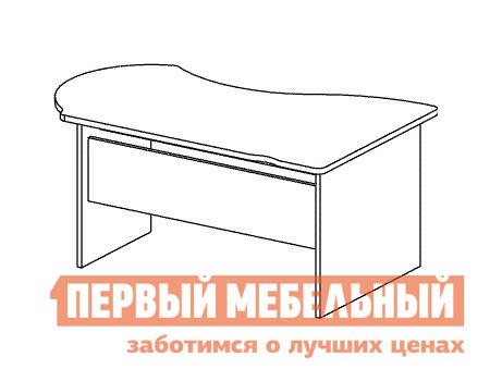 Компьютерный стол Дэфо B104 стол офисный дэфо берлин b101 правый береза серый