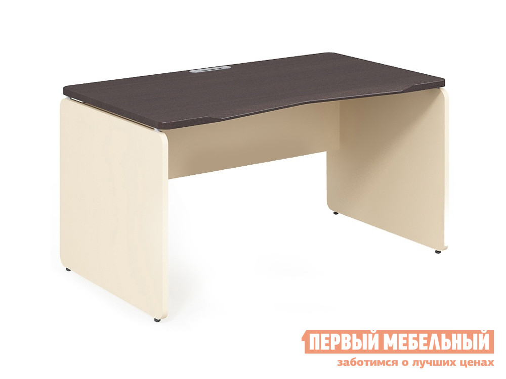 Письменный стол Дэфо 48S112 стол офисный дэфо берлин b101 правый береза серый