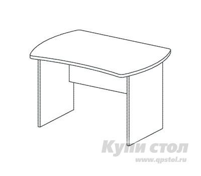 Компьютерный стол Дэфо B163 компьютерный стол кс 20 30