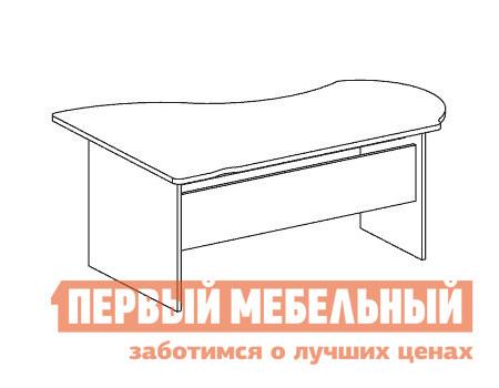 Компьютерный стол Дэфо B107 стол офисный дэфо берлин b101 правый береза серый
