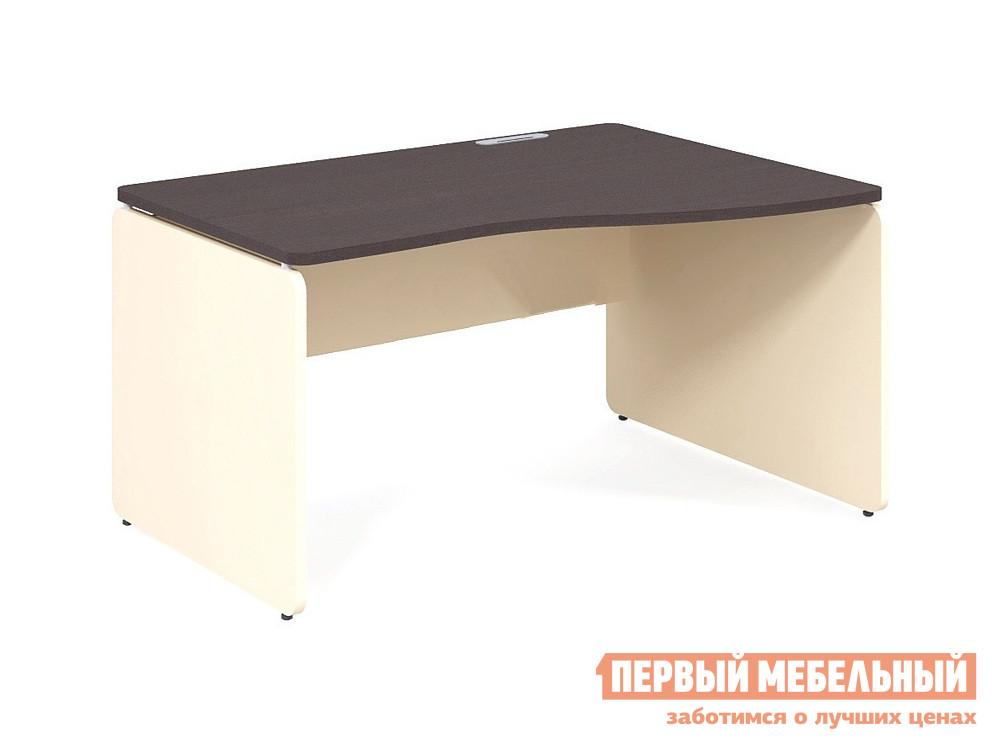 Письменный стол Дэфо 48S133 стол офисный дэфо берлин b101 правый береза серый