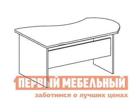Компьютерный стол Дэфо B101 стол офисный дэфо берлин b101 правый береза серый