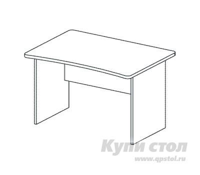 Компьютерный стол Дэфо BM274 стол офисный дэфо берлин b101 правый береза серый