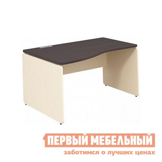 Письменный стол Дэфо 48S023 стол офисный дэфо берлин b101 правый береза серый