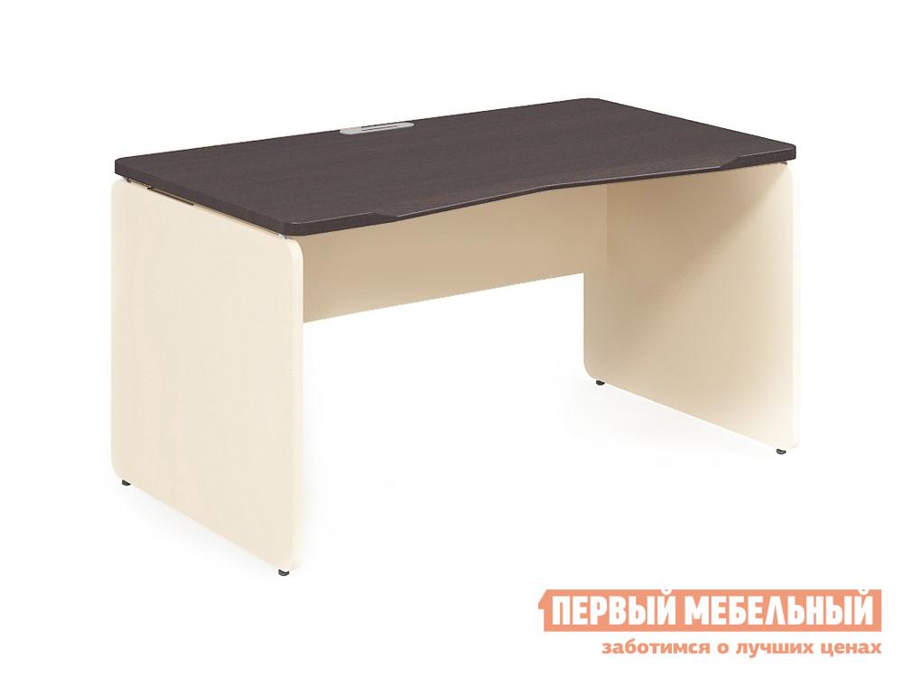Письменный стол Дэфо 48S113 стол офисный дэфо берлин b101 правый береза серый