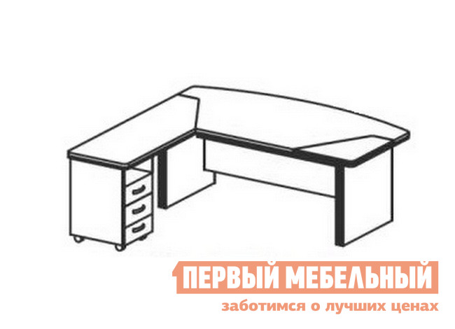 Компьютерный стол Дэфо BE107