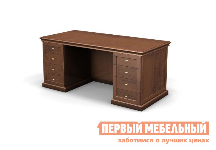 Письменный стол Дэфо 82.021 стол офисный дэфо берлин b101 правый береза серый