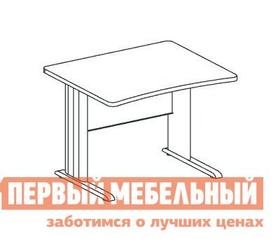 Компьютерный стол Дэфо BM272/1 стол офисный дэфо берлин b101 правый береза серый
