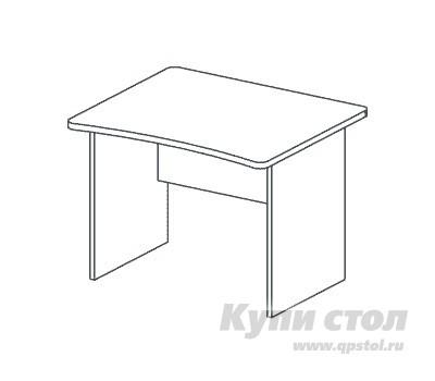 Компьютерный стол Дэфо BM271 стол офисный дэфо берлин b101 правый береза серый