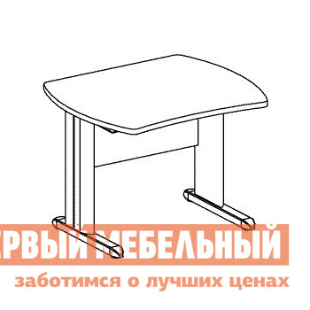 Компьютерный стол Дэфо B152/1 компьютерный стол кс 20 30