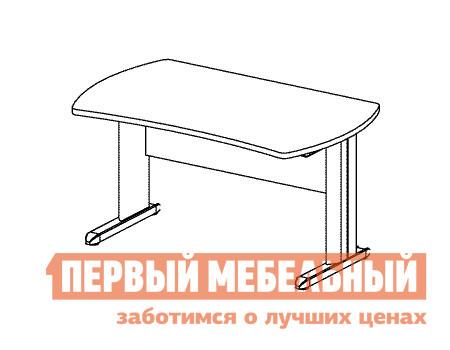 Компьютерный стол Дэфо B155/1 стол офисный дэфо берлин b101 правый береза серый