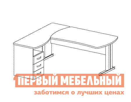 Компьютерный стол Дэфо B187/1 кресло дэфо лайт new 2005