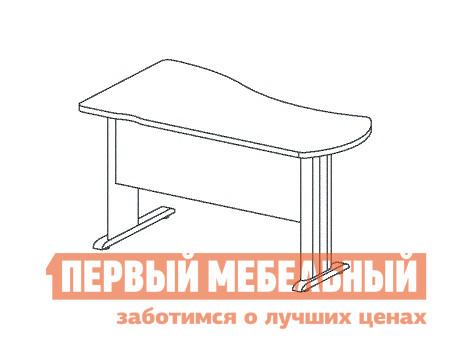 Компьютерный стол Дэфо B114/1 стол офисный дэфо берлин b101 правый береза серый