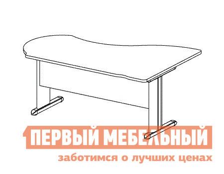 Компьютерный стол Дэфо B111/1 стол офисный дэфо берлин b101 правый береза серый