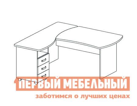 Компьютерный стол Дэфо B198