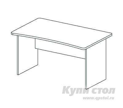 Компьютерный стол Дэфо BM277 стол офисный дэфо берлин b101 правый береза серый