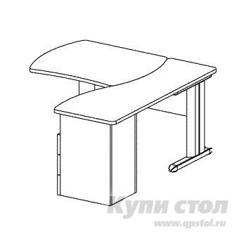 Компьютерный стол Дэфо B172/1