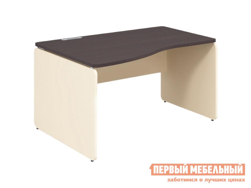 Письменный стол Дэфо 48S123 стол офисный дэфо берлин b101 правый береза серый