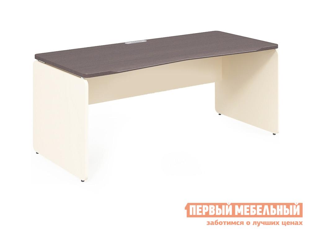 Письменный стол Дэфо 48S114 стол офисный дэфо берлин b101 правый береза серый