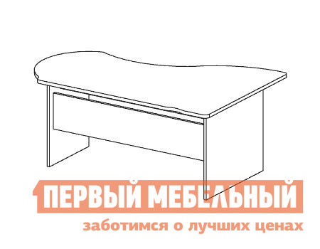 Компьютерный стол Дэфо B110 компьютерный стол кс 20 30