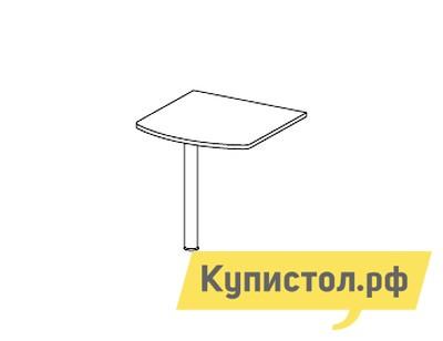 Стол-приставка Дэфо 48B005 стол офисный дэфо берлин b101 правый береза серый