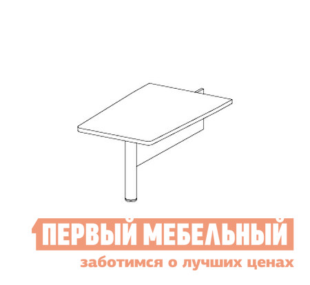 Стол-приставка Дэфо 48B004