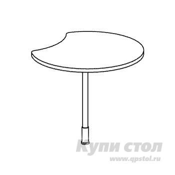 Стол-приставка Дэфо B321