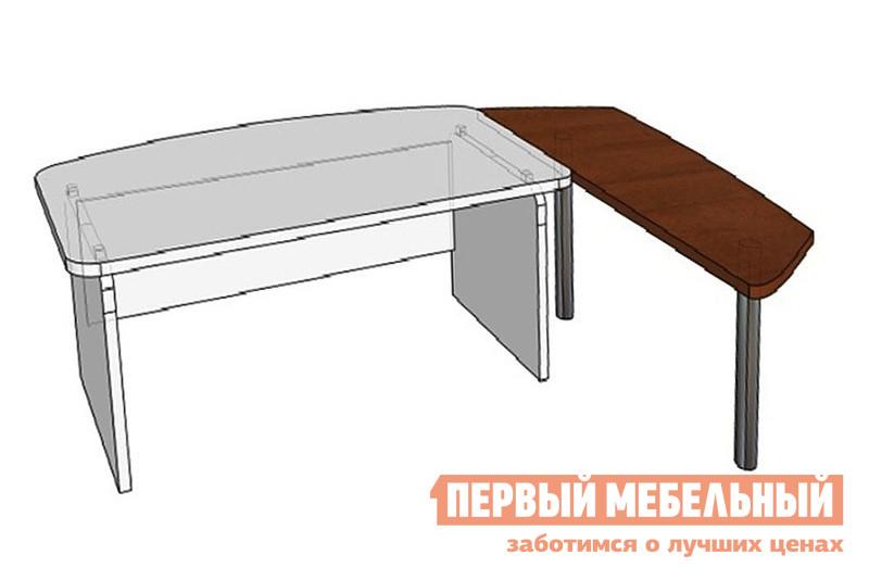 Стол-приставка Дэфо СП9-2н2 стол офисный дэфо берлин b101 правый береза серый