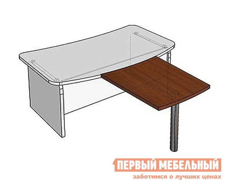 Стол-приставка Дэфо СП9-6н1 стол офисный дэфо берлин b101 правый береза серый