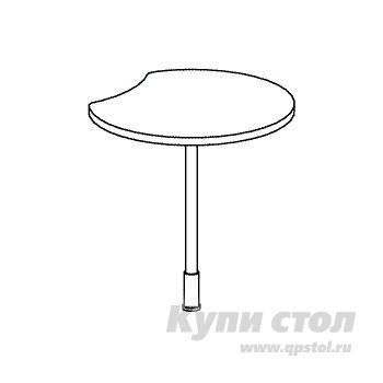 Стол-приставка Дэфо B315