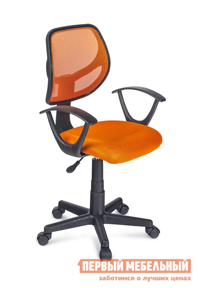 Компьютерное кресло Дэфо KIT Оранжевая сетка