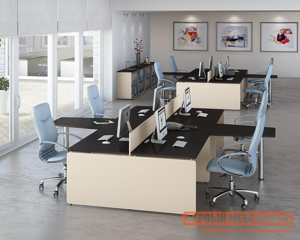 Комплект офисной мебели Дэфо Аккорд К1 комплект офисной мебели дэфо берлин офис к1