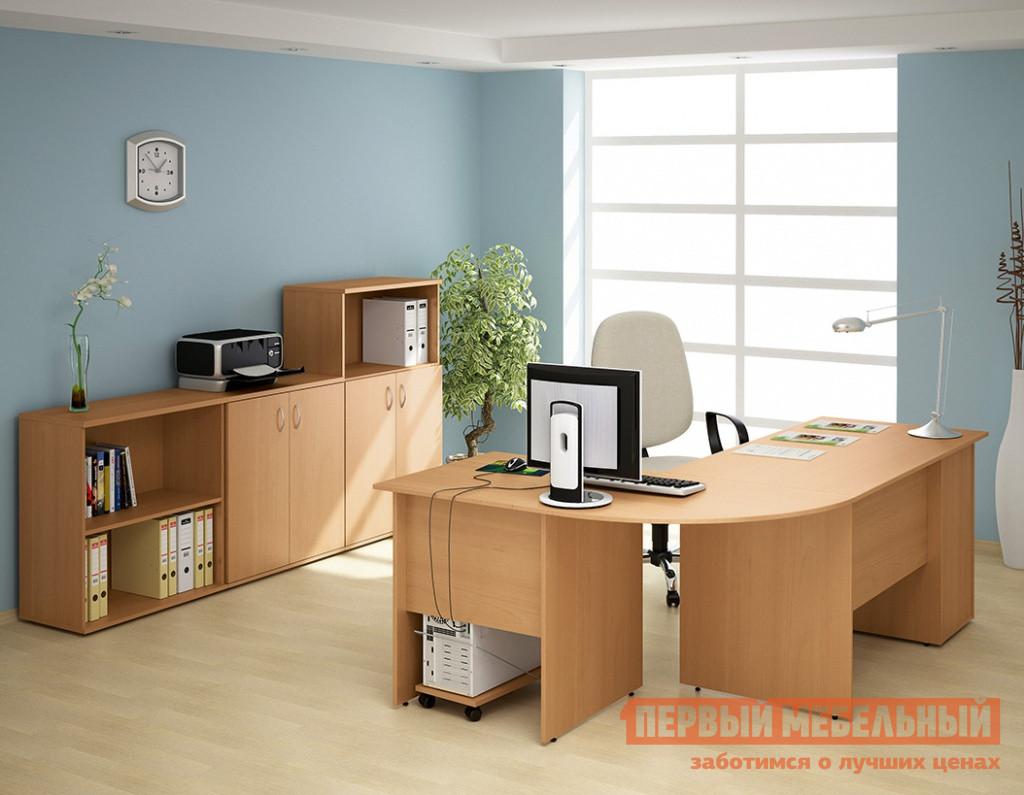 Комплект офисной мебели Дэфо Уно Офис К3 комплект офисной мебели pointex свифт к3 темный