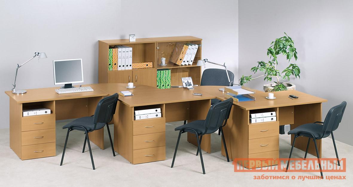 Комплект офисной мебели Дэфо Уно Офис К2 комплект офисной мебели дэфо берлин офис к1