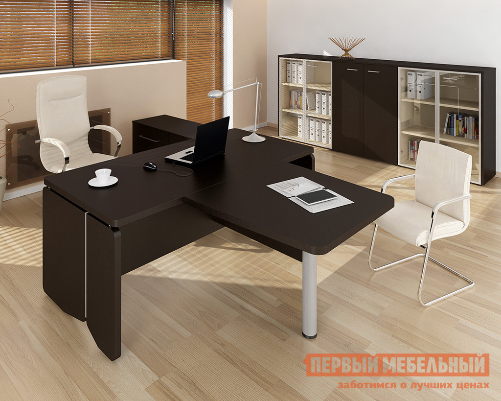 Комплект офисной мебели Дэфо Аккорд Директор К1 комплект офисной мебели дэфо берлин офис к1