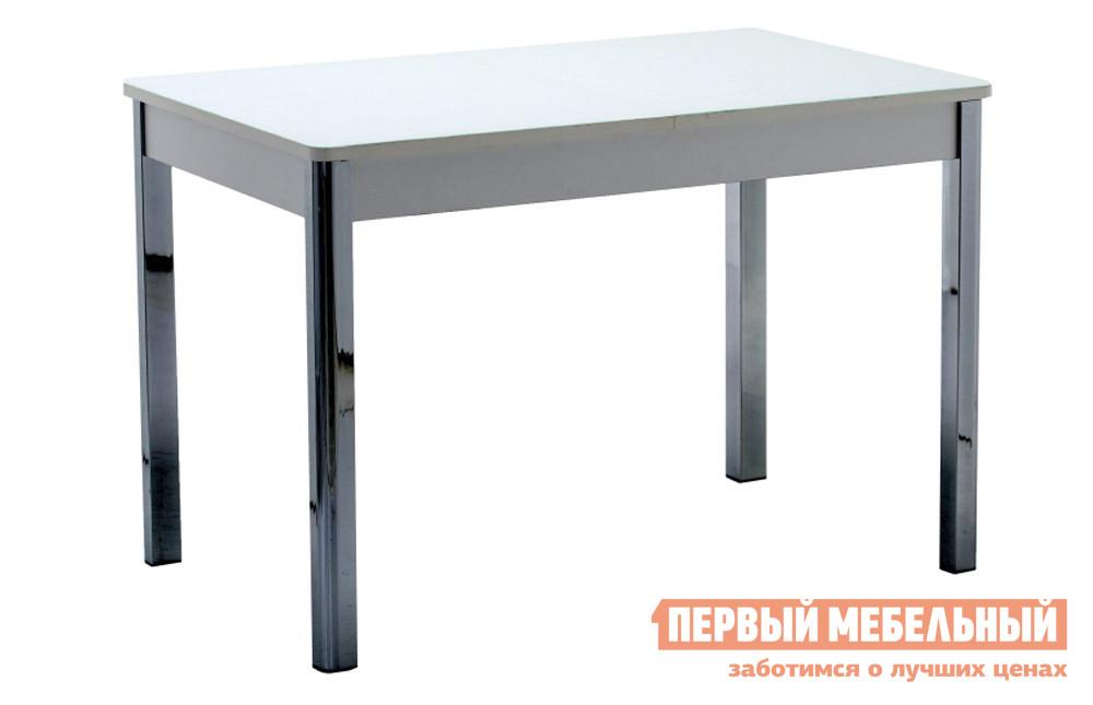 Кухонный стол 120х80 Кубика Бомбей-2 (ноги хром) минипечь gefest пгэ 120 пгэ 120