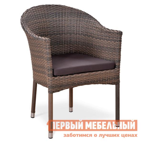 Плетеное кресло из искусственного ротанга Афина-мебель Y350G-W1289 мебель из ротанга