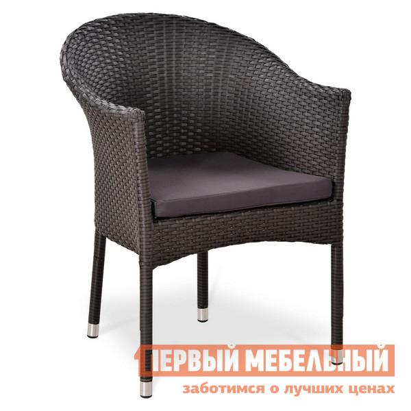 Плетеное кресло из искусственного ротанга Афина-мебель Y350W-W2390 кресло y 189b афина