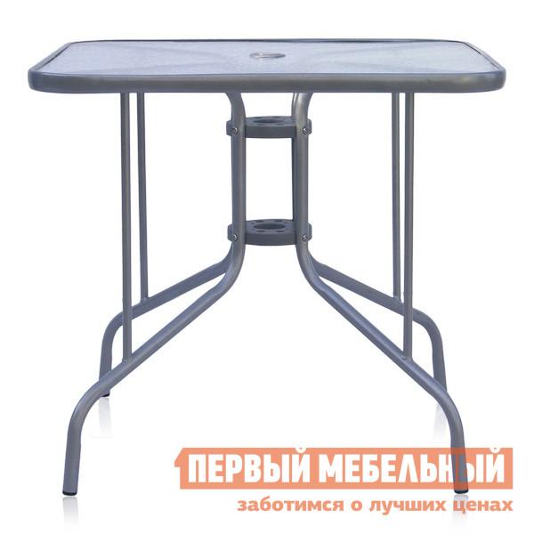 Металлический уличный стол Афина-мебель 80х80 трафарет металлический и штампы pergamano садовая мебель