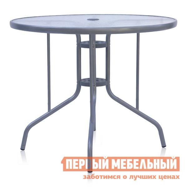 Металлический стол для дачи Афина-мебель D90 трафарет металлический и штампы pergamano садовая мебель