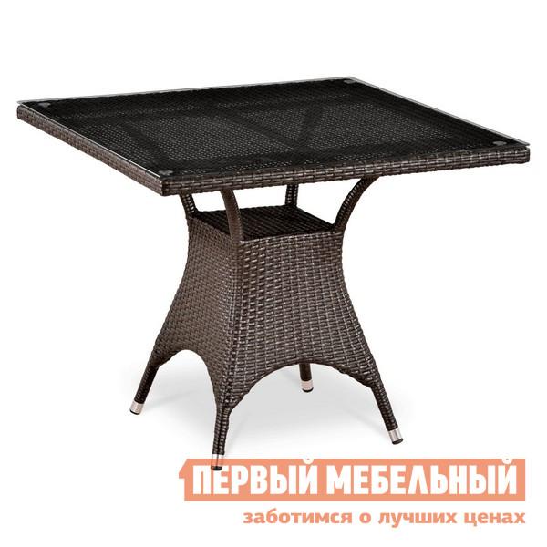 Плетеный стол Афина-мебель T220BBТ-W52 / T220BG-W1289 комплект мебели из ротанга афина мебель t282bnt w53 y90c w51 2pcs
