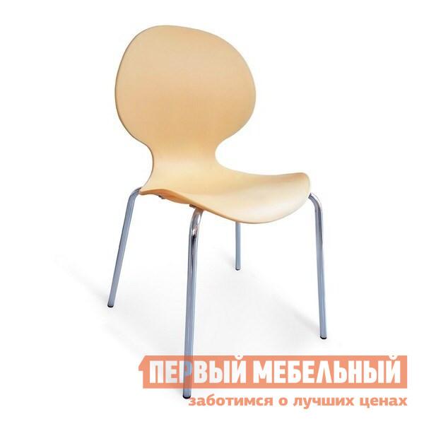 Стул Афина-мебель SHF-008 ПерсиковыйСтулья для кухни<br>Габаритные размеры ВхШхГ 820x470x530 мм. Стильный необычный дизайн стула сможет стать украшением вашего интерьера.  Легкий, но в тоже время прочный стул будет служить и радовать вас долгие годы. Изделие выполнено из полипропилена, каркас из хромированной стали.  Для того чтобы не царапать пол, на ножках предусмотрены пластиковые заглушки.  Стул имеет специальную эргономичную форму сиденья, чтобы находиться в нем было максимально комфортно.<br><br>Цвет: Персиковый<br>Цвет: Бежевый<br>Высота мм: 820<br>Ширина мм: 470<br>Глубина мм: 530<br>Кол-во упаковок: 1<br>Форма поставки: В разобранном виде<br>Срок гарантии: 1 год<br>Материал: Пластиковые<br>Особенности: С жестким сиденьем, Без подлокотников