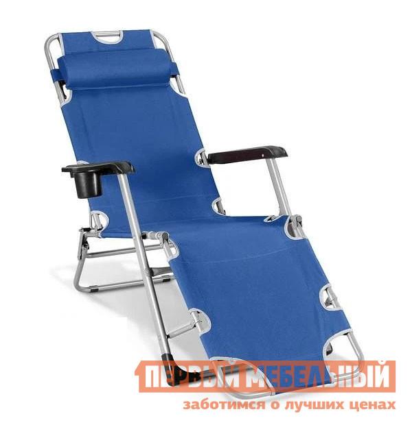 Шезлонг  CHO-103А / CHO-103В CHO-103D Синий Афина-мебель 51669